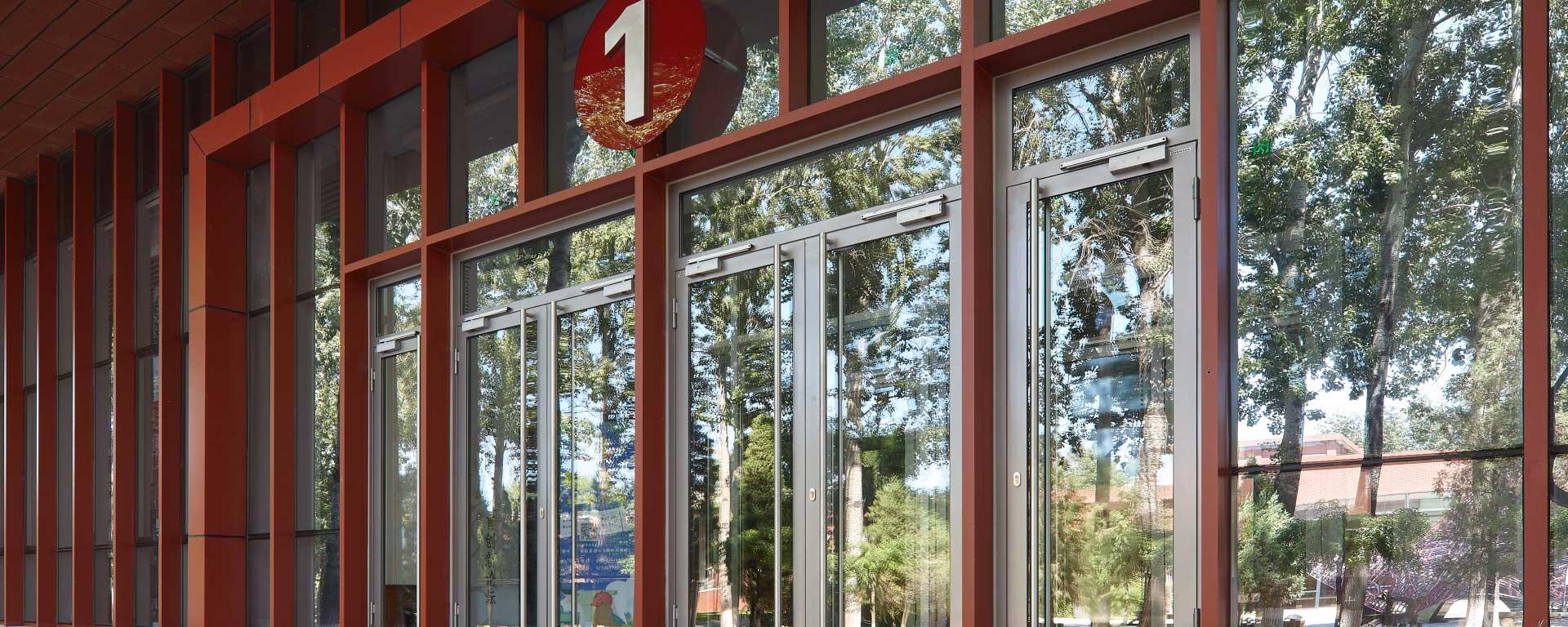钢质型材门及隔断