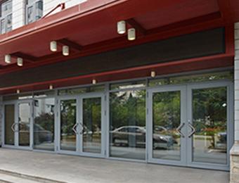 钢质单元门