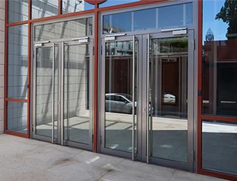 钢质型材门及隔断系统