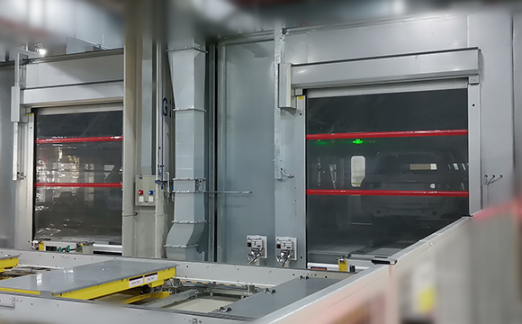 Hörmann new product – Machinery protection door V 5030 MSL