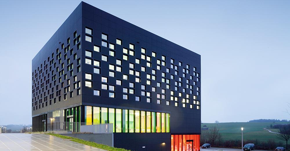 五彩斑斓的黑~~色魔方:德国思笔乐办公大楼