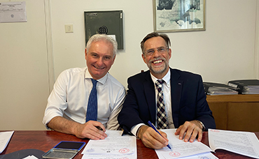 德国霍曼与意大利大使馆就使馆翻新项目达成战略合作